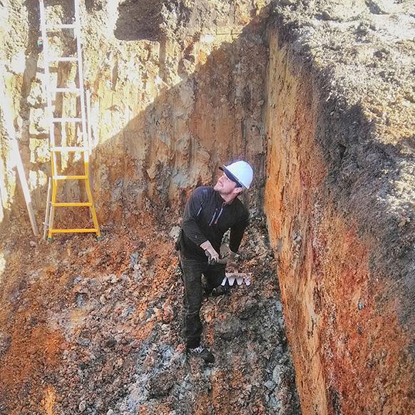 Terrassement pour installation géothermique